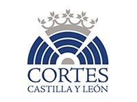 logo cortes de Castilla y león
